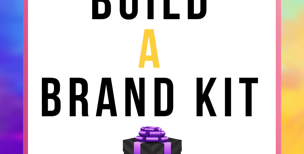 Build-a-Brand Kit