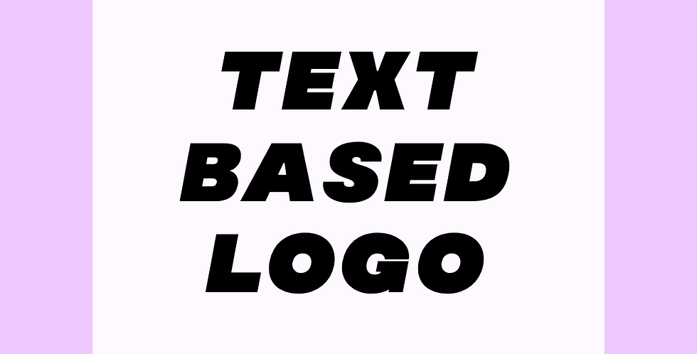 Text Only Logo