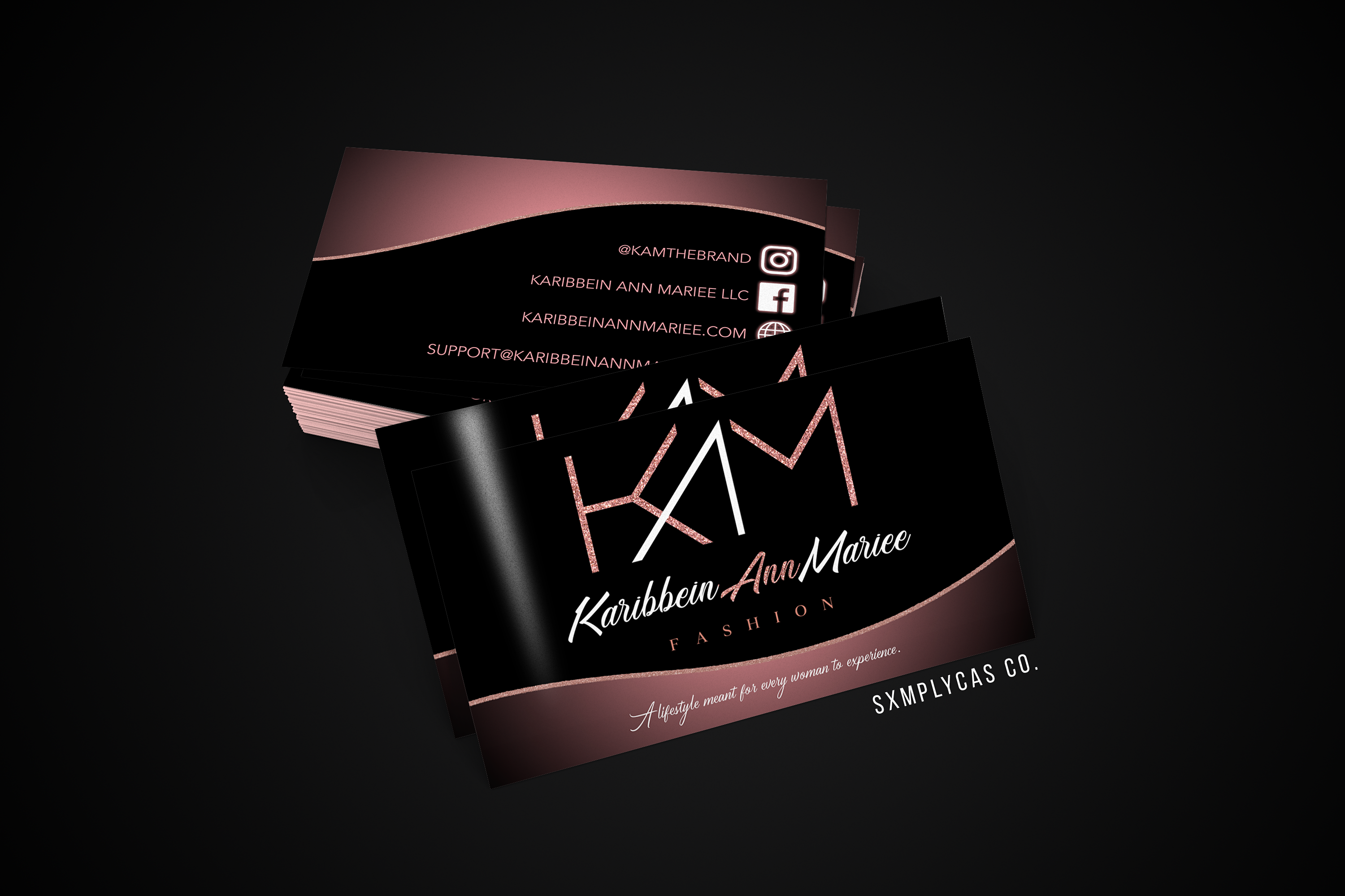 KAM Business Card Mockup