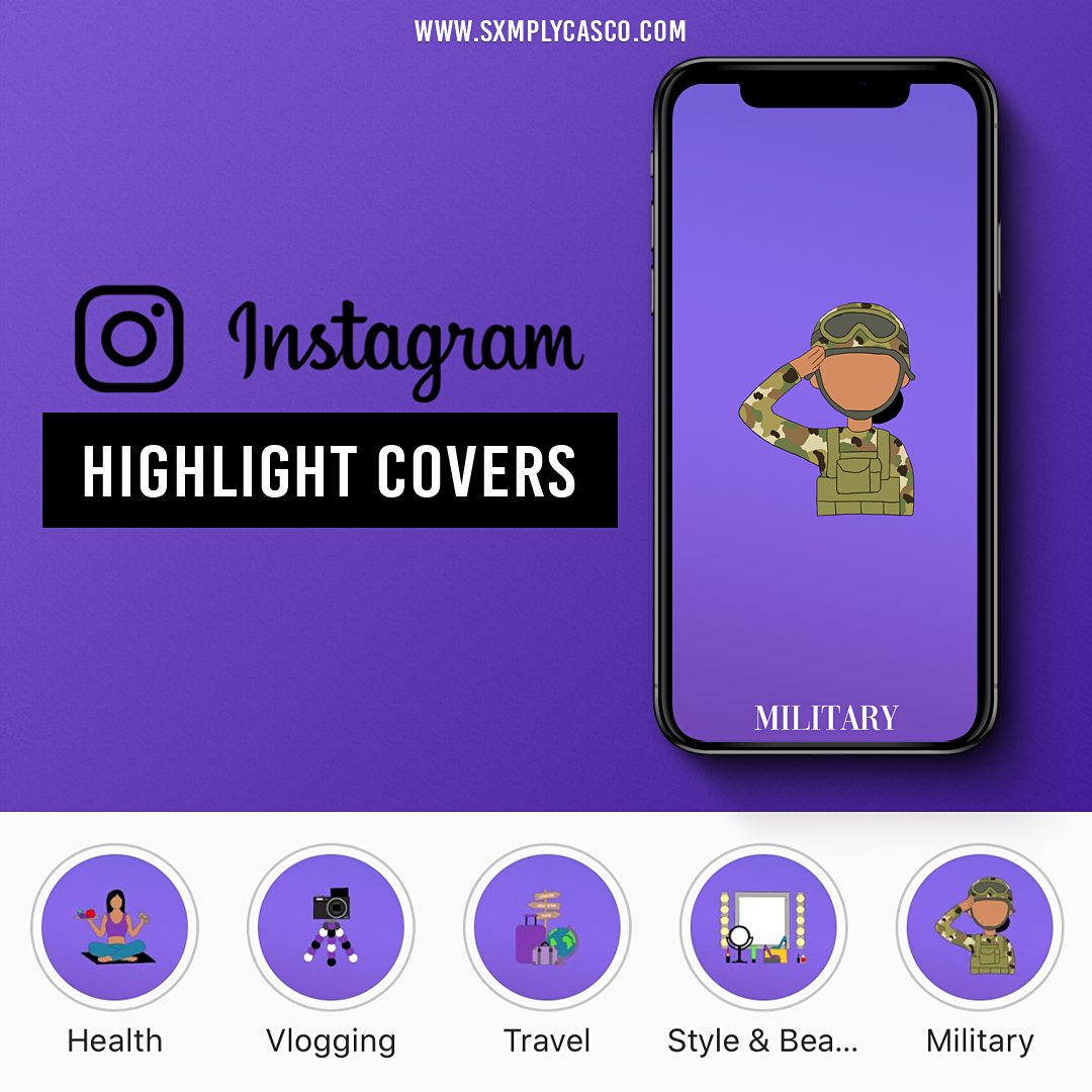 Shayna Highlight Covers Mockup
