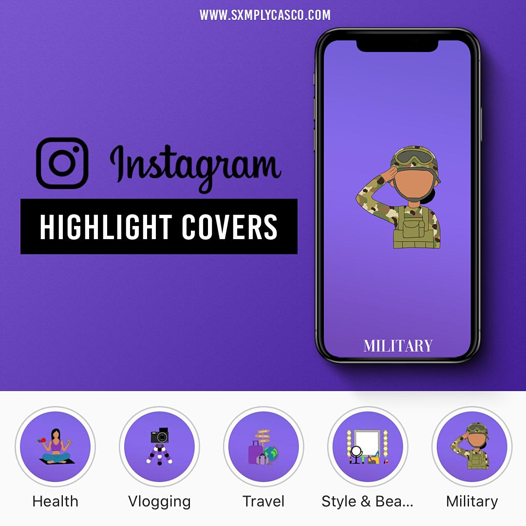 Shayna Highlight Covers Mockup