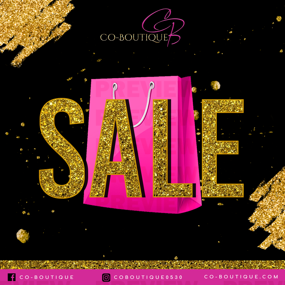 Co Boutique Sale Template