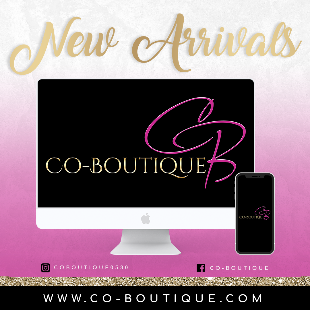Co Boutique NEW ARRIVALS Template
