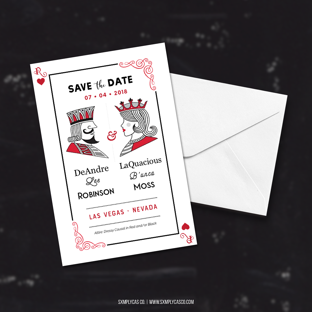 wedding invite mockup