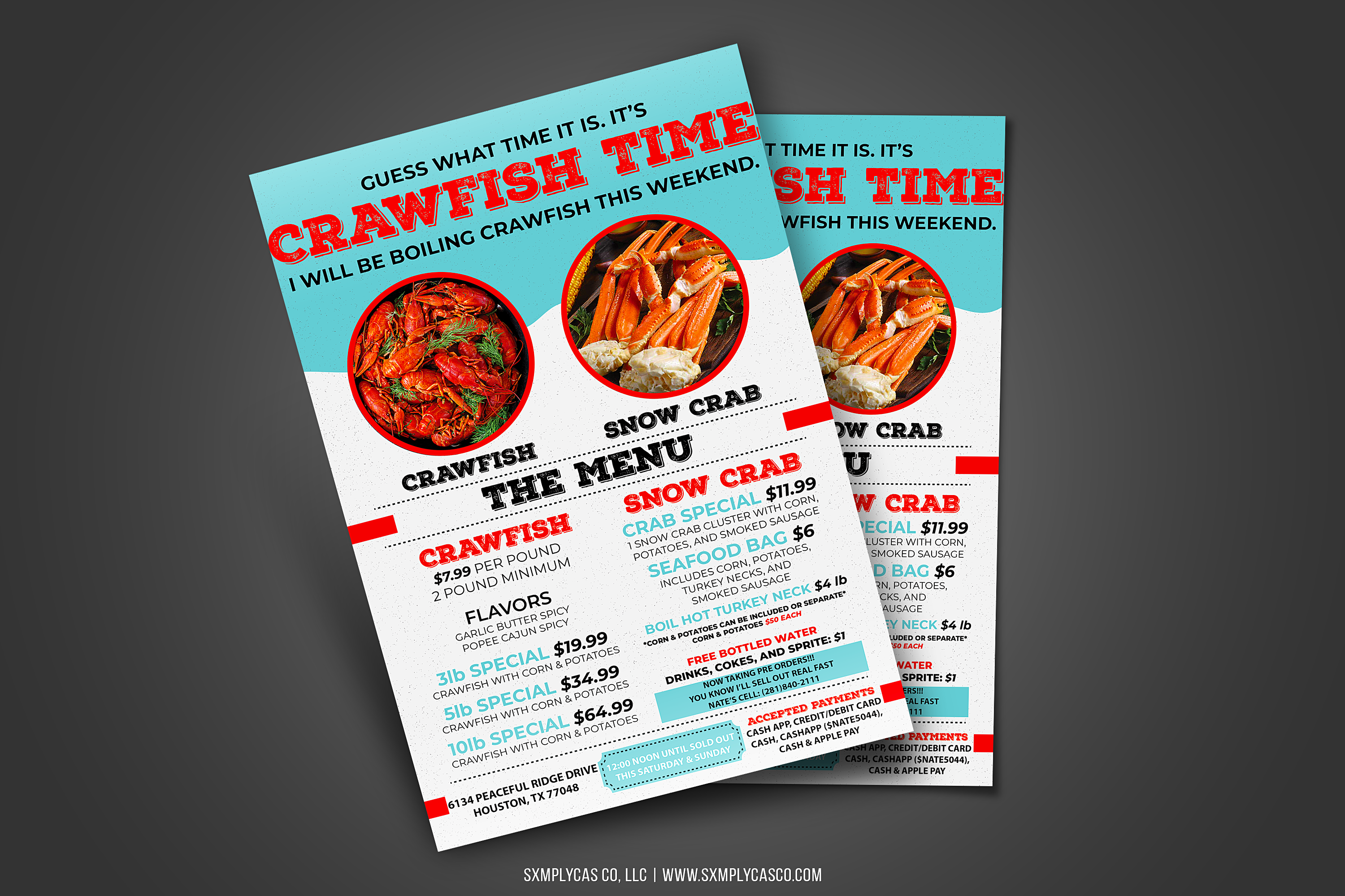 CRAWFISH FLYER