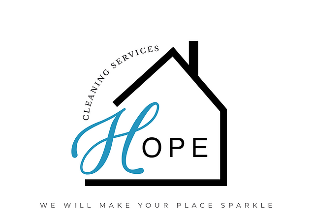 Hope Cleaning Services Logo white backgr