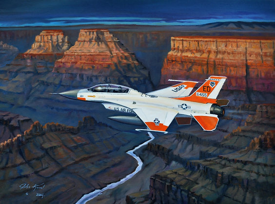 """""""Over the Canyon"""" SOLD"""