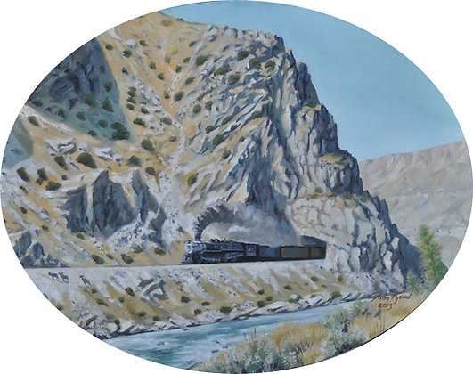 """""""Wind River Express"""" SOLD"""