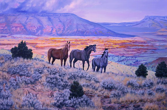 """Mustang Country"" SOLD"
