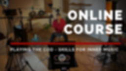 Chakra overtone drum Online course