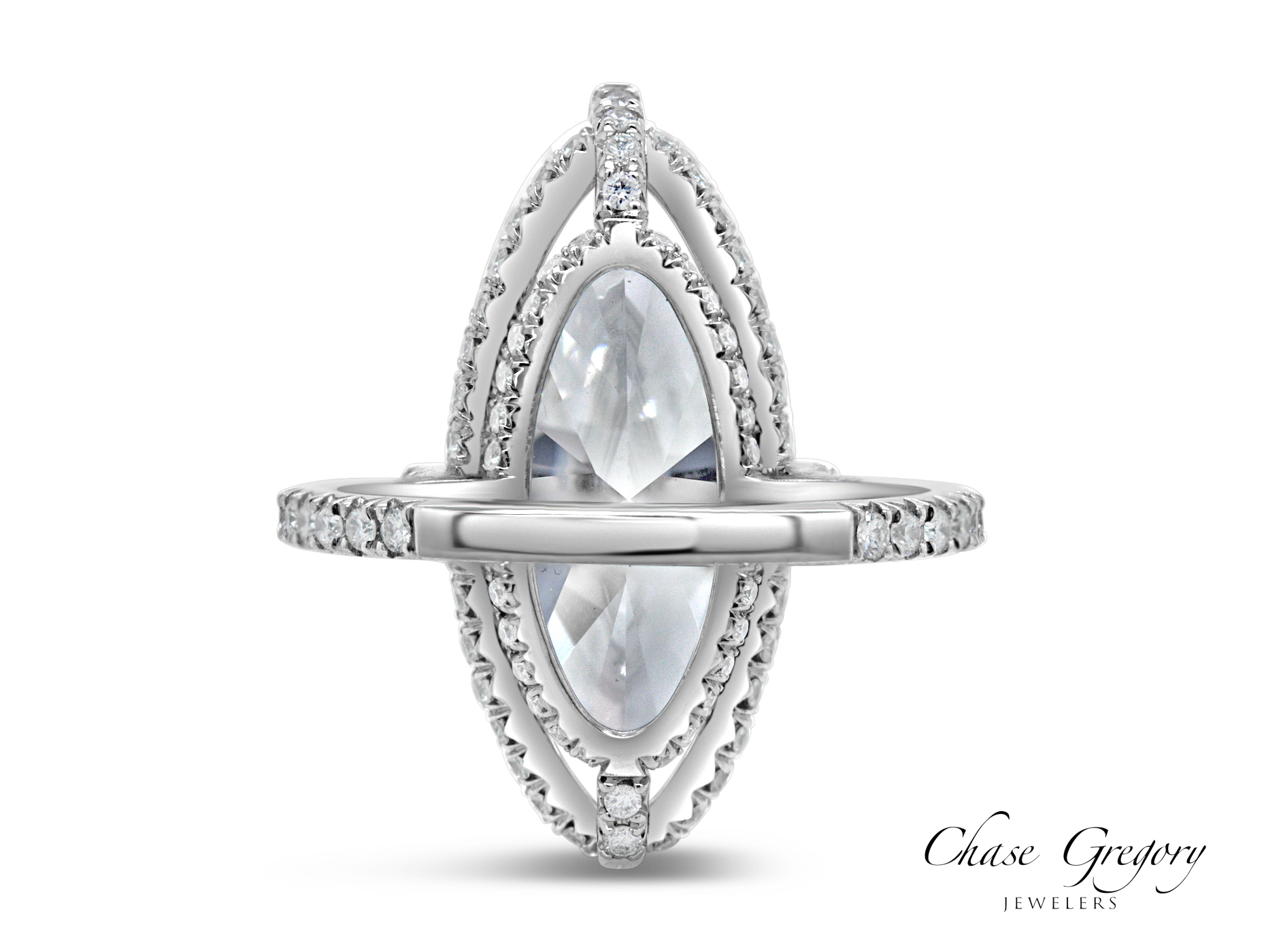 9 ct, moval, chase gregory jeweler