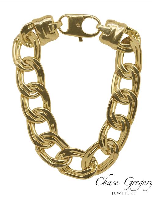 Curbed Link Bracelet