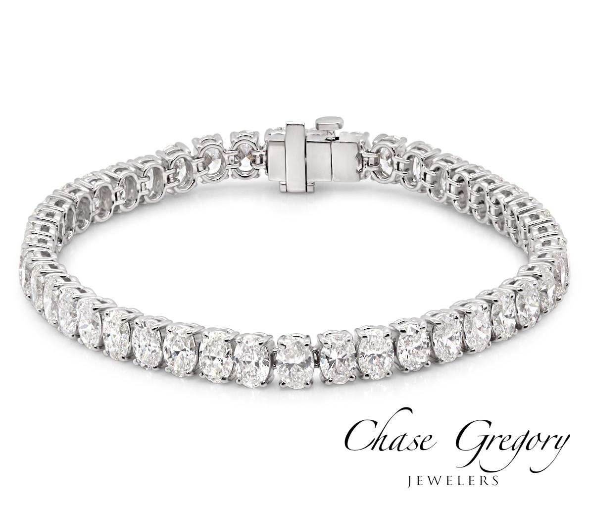 Oval Diamond Bracelet