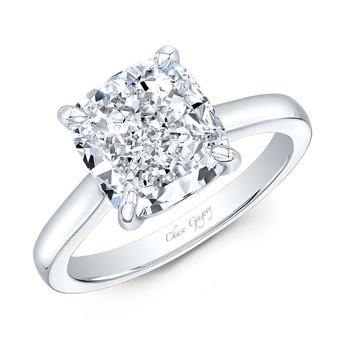 4.03ct Cushion Engagement Ring