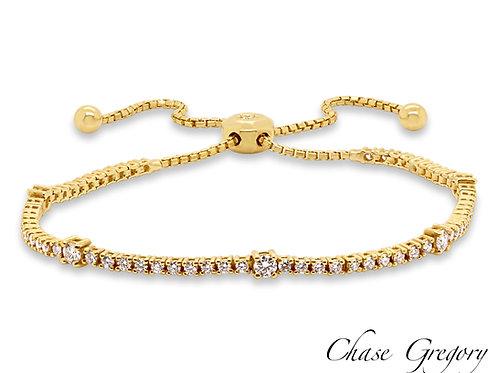 Toggle Tennis Bracelet