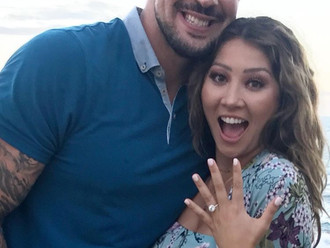 From fighter to comedian to now...ENGAGED!