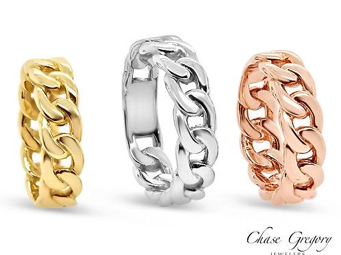 Cuban Link Rings