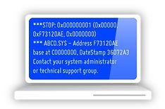 laptop blue screen of death repair