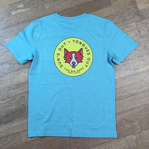 Sun's Out Tongues Out Organic Tee