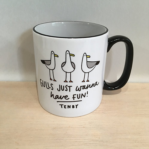 Ceramic Mug - Gulls Just Wanna Have Fun