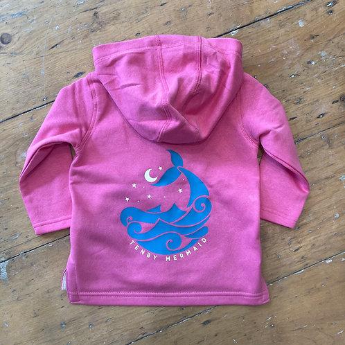 Tenby Mermaid Toddler Hoodie