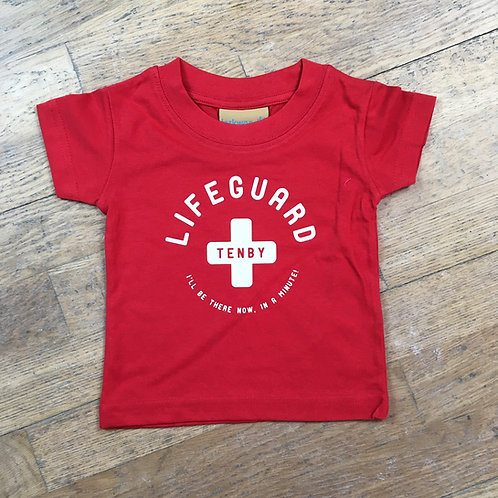 Baby/Toddler Tenby Lifeguard Tee