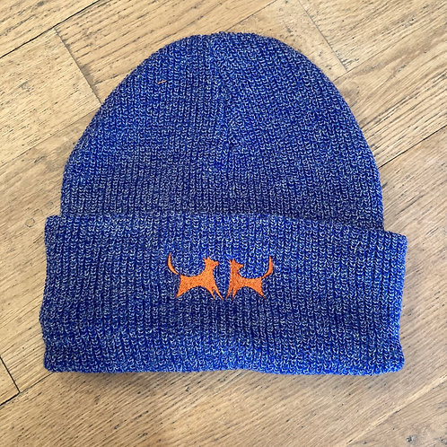 Two Red Dogs Heather Royal Beanie
