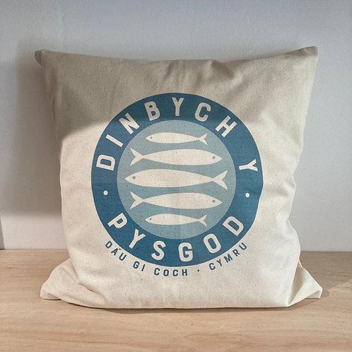 Dinbych Y Pysgod Fairtrade Cushion