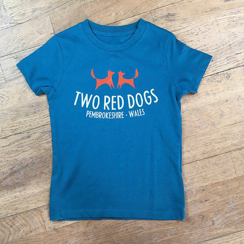 Two Red Dogs Logo Kids Tee