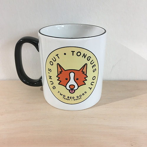 Ceramic Mug - Sun's Out Tongues Out