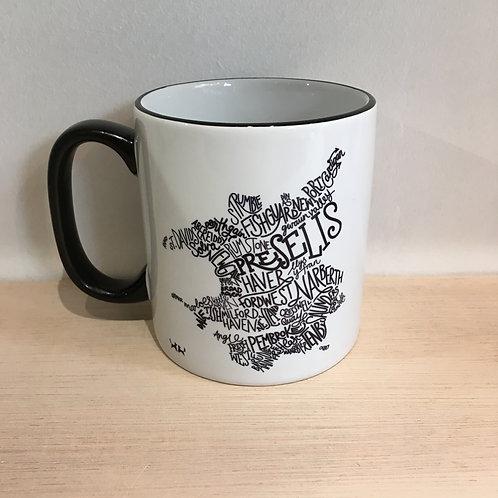 Ceramic Mug - Wordmap