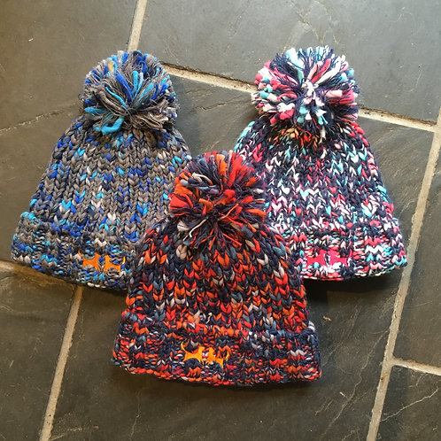 Colour Mix Bobble Hat