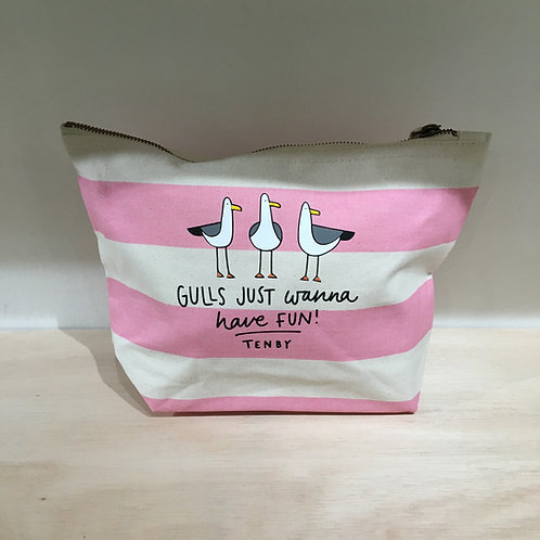 Gulls Just Wanna Have Fun Washbag