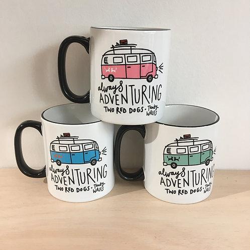 Ceramic Mug - Always Adventuring Camper