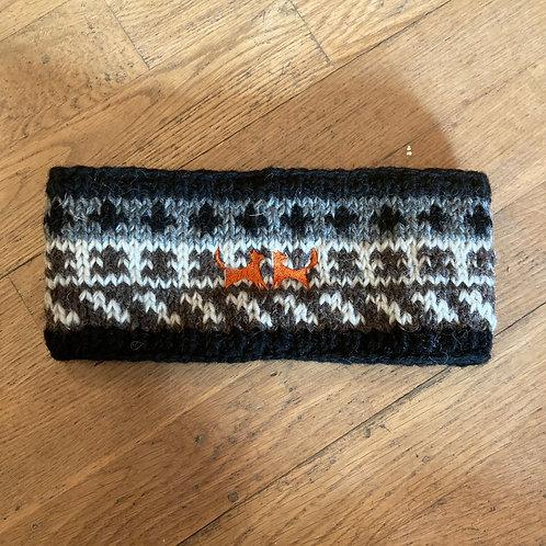 Wool Headband - Nordic Pattern