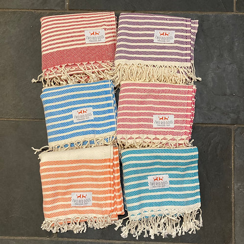 Two Red Dogs Turkish Towel/Throw
