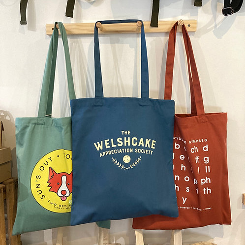 Welshcake Appreciation Society Tote Bag