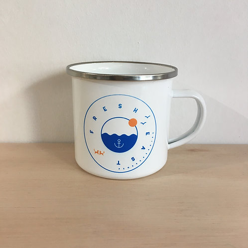 Enamel Mug - Fresh East