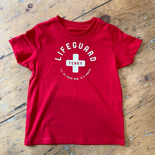 Kids Tenby Lifeguard Tee