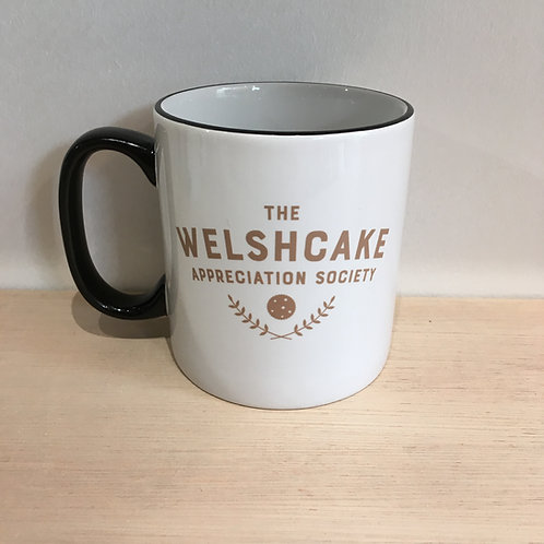 Ceramic Mug -The Welshcake Appreciation Society