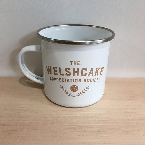 Enamel Mug - The Welshcake Appreciation Society
