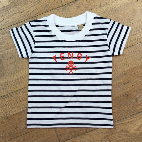 Baby/Toddler Tenby Pirate Tee