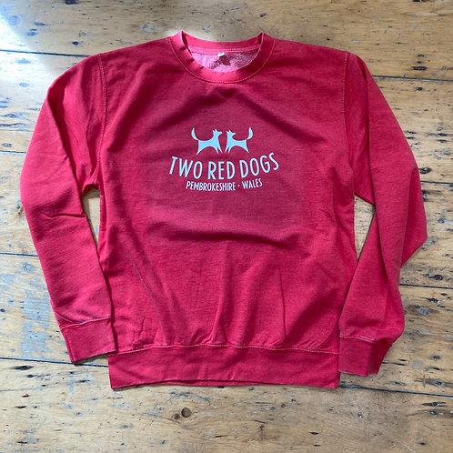 Two Red Dogs Logo Sweatshirt