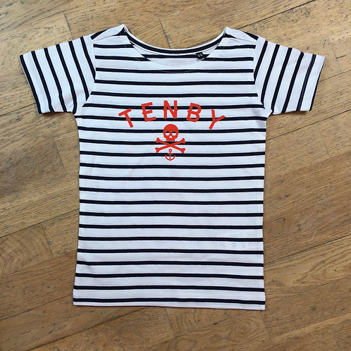 Kids Tenby Pirate Tee