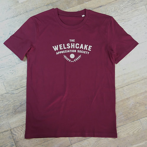 Welshcake Appreciation Society Organic Tee