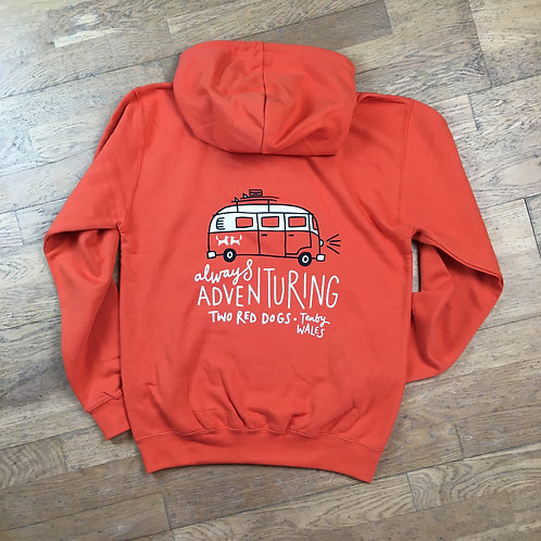 Always Adventuring Camper Hoodie