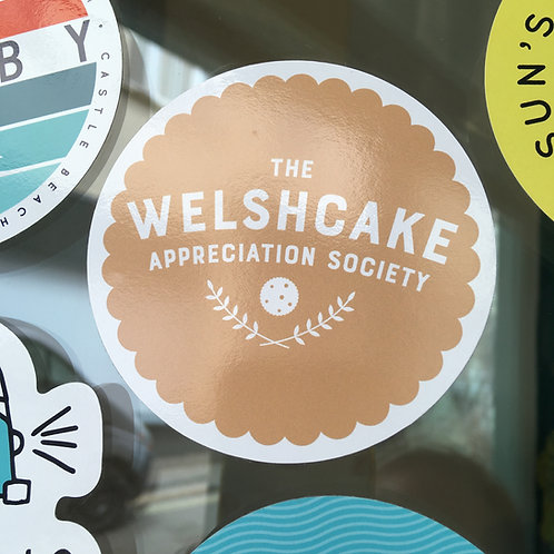 Welshcake Appreciation Society Sticker