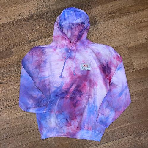Blue Raspberryade Tie Dye Hoodie
