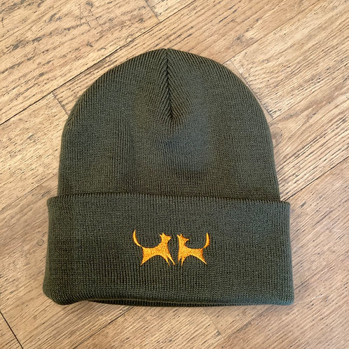 Two Red Dogs Olive Beanie