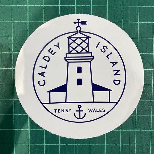 Caldey Island Sticker